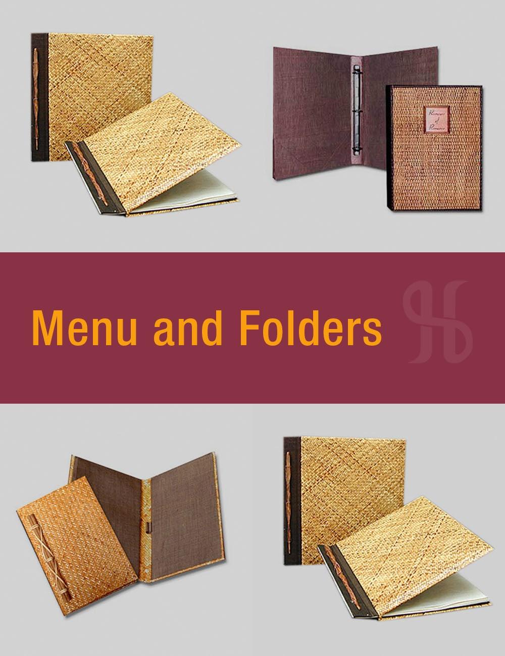 Menu and Folders