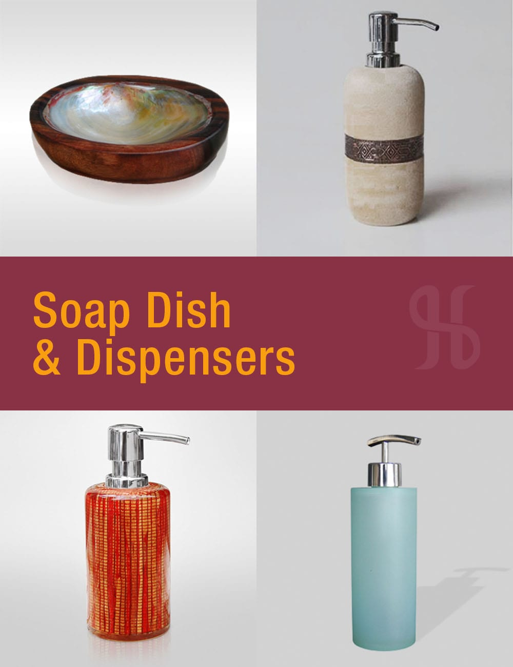 Soap Dish and Dispensers