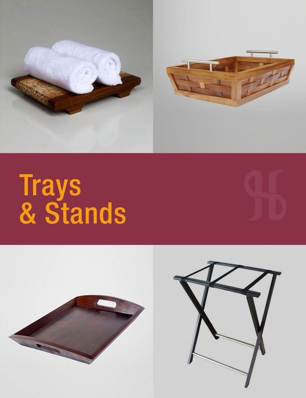 Trays and Stands